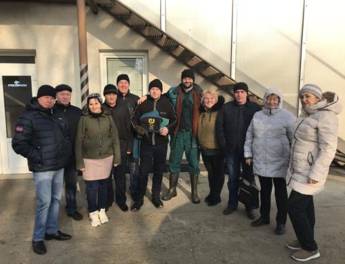 Недельный ознакомительный тур по Чешским фермам завершён